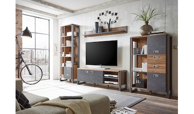 Home affaire Wohnwand »Detroit Set 4« (Set, 4 - tlg) kaufen