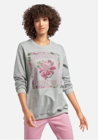 MYBC Sweatshirt »Sweatshirt«, mit Seitenschlitzen kaufen