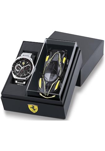 Scuderia Ferrari Multifunktionsuhr »Speedracer, 870037« (Set, 2 tlg., mit Modellauto) kaufen