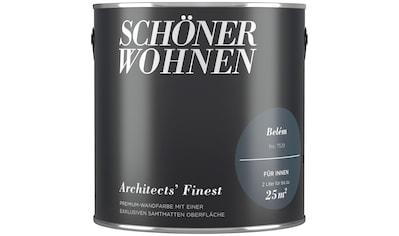 SCHÖNER WOHNEN FARBE Wand -  und Deckenfarbe »Architects' Finest  -  Belém«, 2 l kaufen