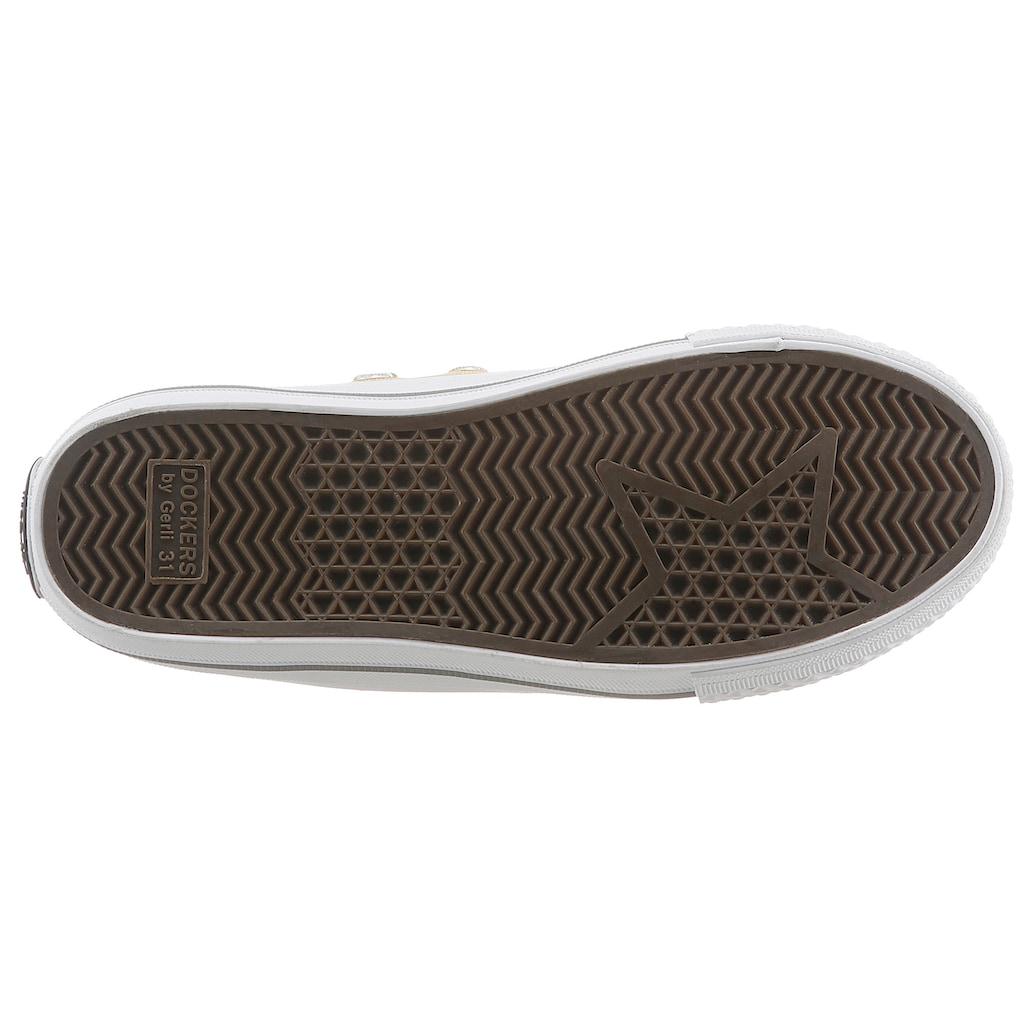 Dockers by Gerli Slip-On Sneaker, mit Gummikappe
