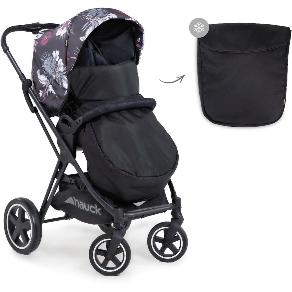 Hauck Kombi-Kinderwagen »iPro Mars Duoset, wild blooms«, mit Babywanne; Kinderwagen