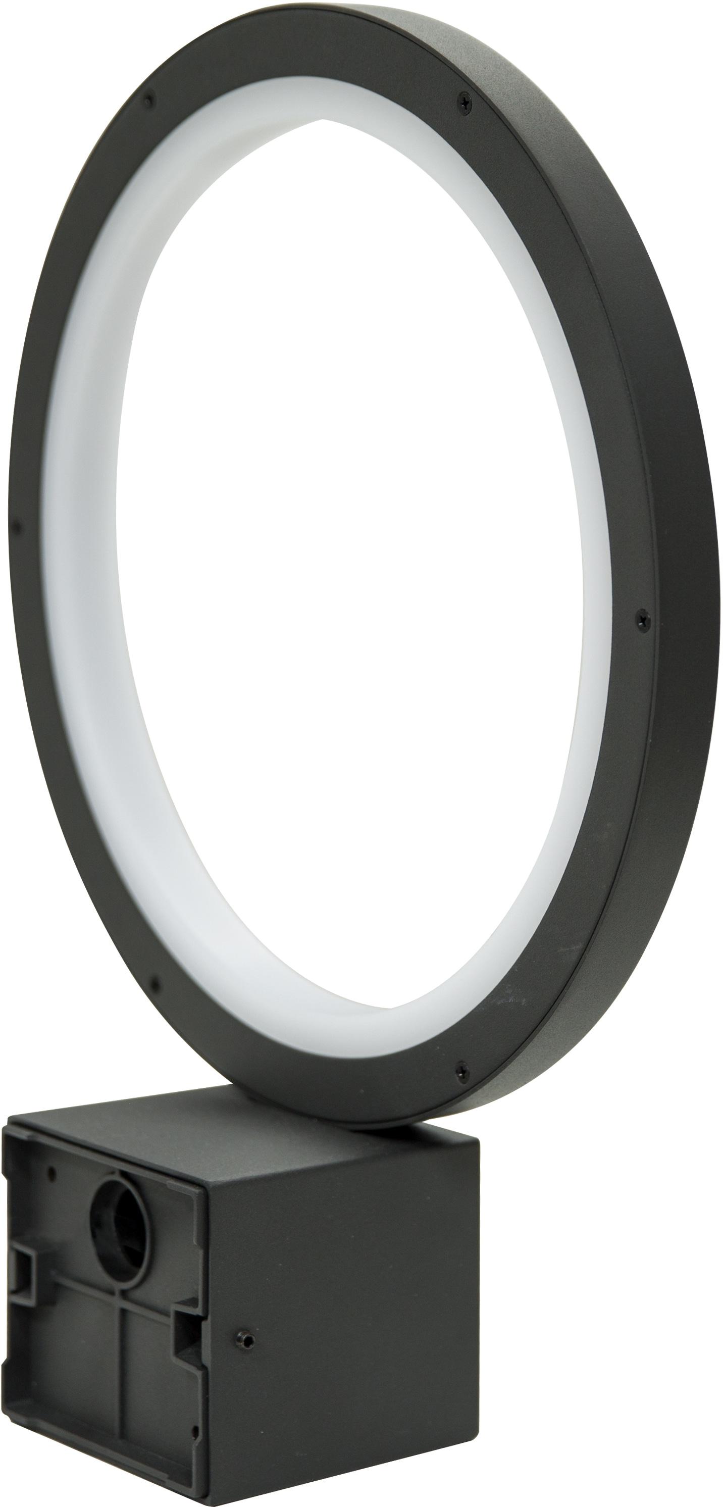 HEITRONIC LED Wandleuchte Kaleo, LED-Modul, 1 St., Warmweiß, Rundherum eine gleichmäßige Lichtverteilung