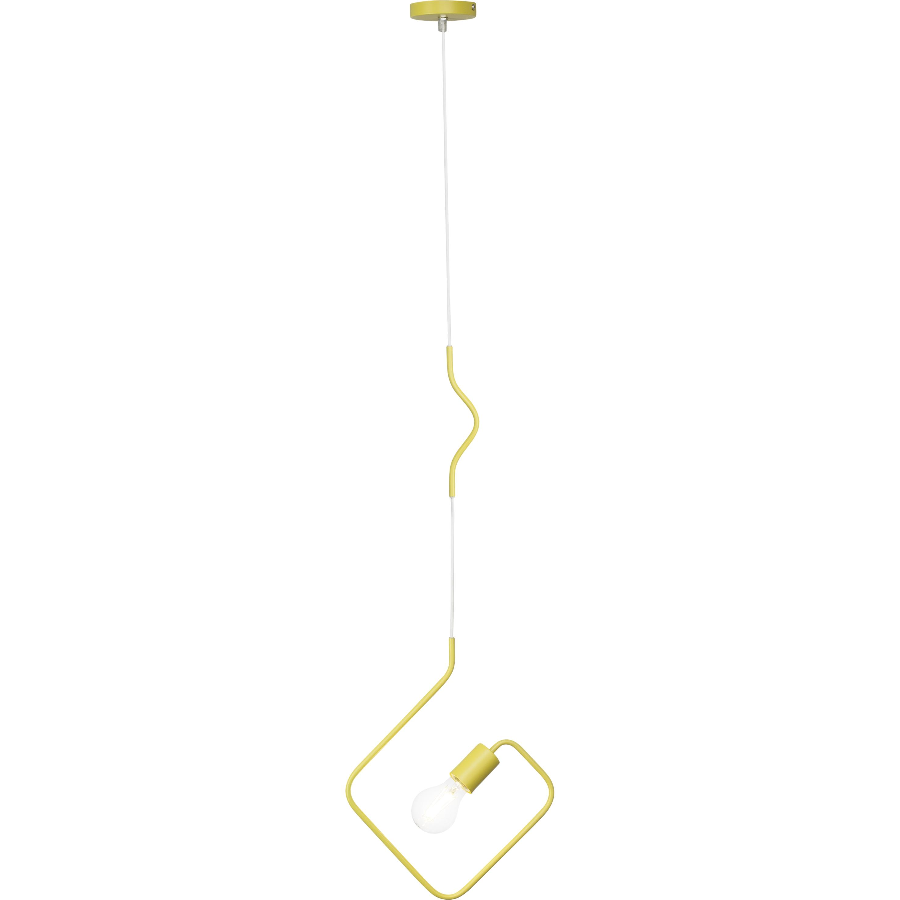 Brilliant Leuchten Kacy Pendelleuchte gelb