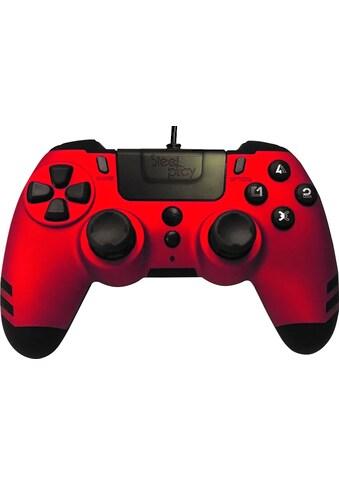 Steelplay Gaming-Controller »Metaltech Rot PS4« kaufen