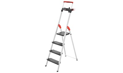 HAILO Stehleiter »L100«, 4 Stufen, max. Arbeitshöhe: 285 cm kaufen