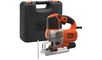 BLACK + DECKER Pendelhubstichsäge 650 W, elektrisch kaufen
