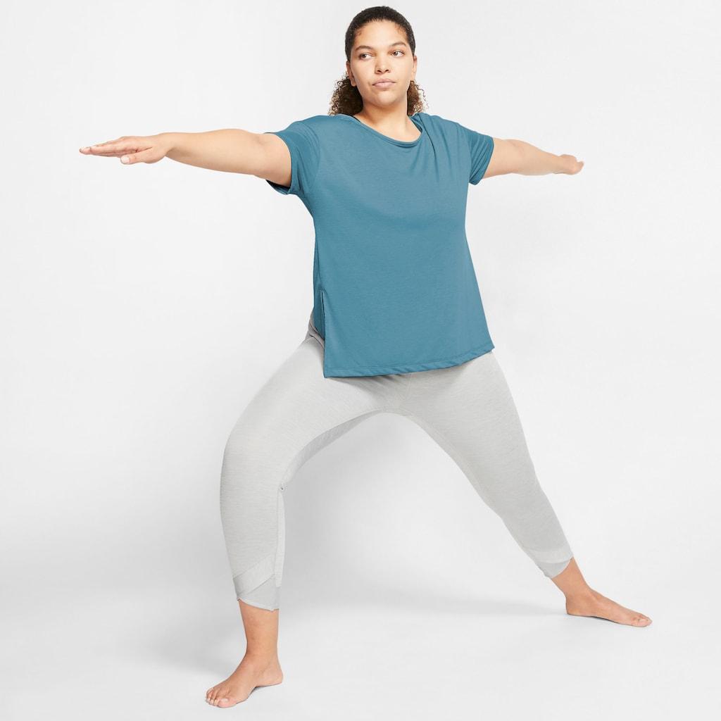 Nike Yogashirt »NIKE WOMENS SHORT-SLEEVE YOGA TRAINING«