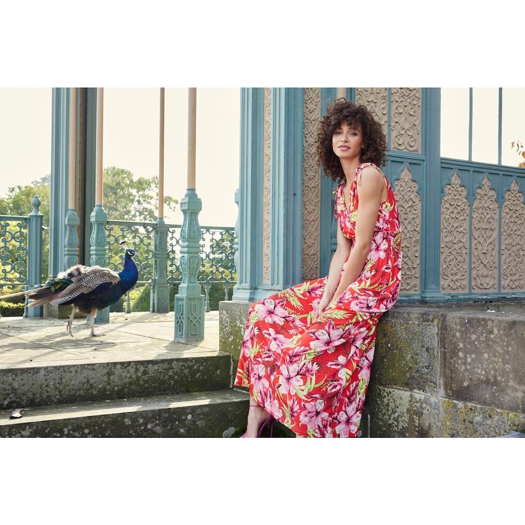 Aniston SELECTED Strandkleid, mit Wickel-Ausschnitt - NEUE KOLLEKTION