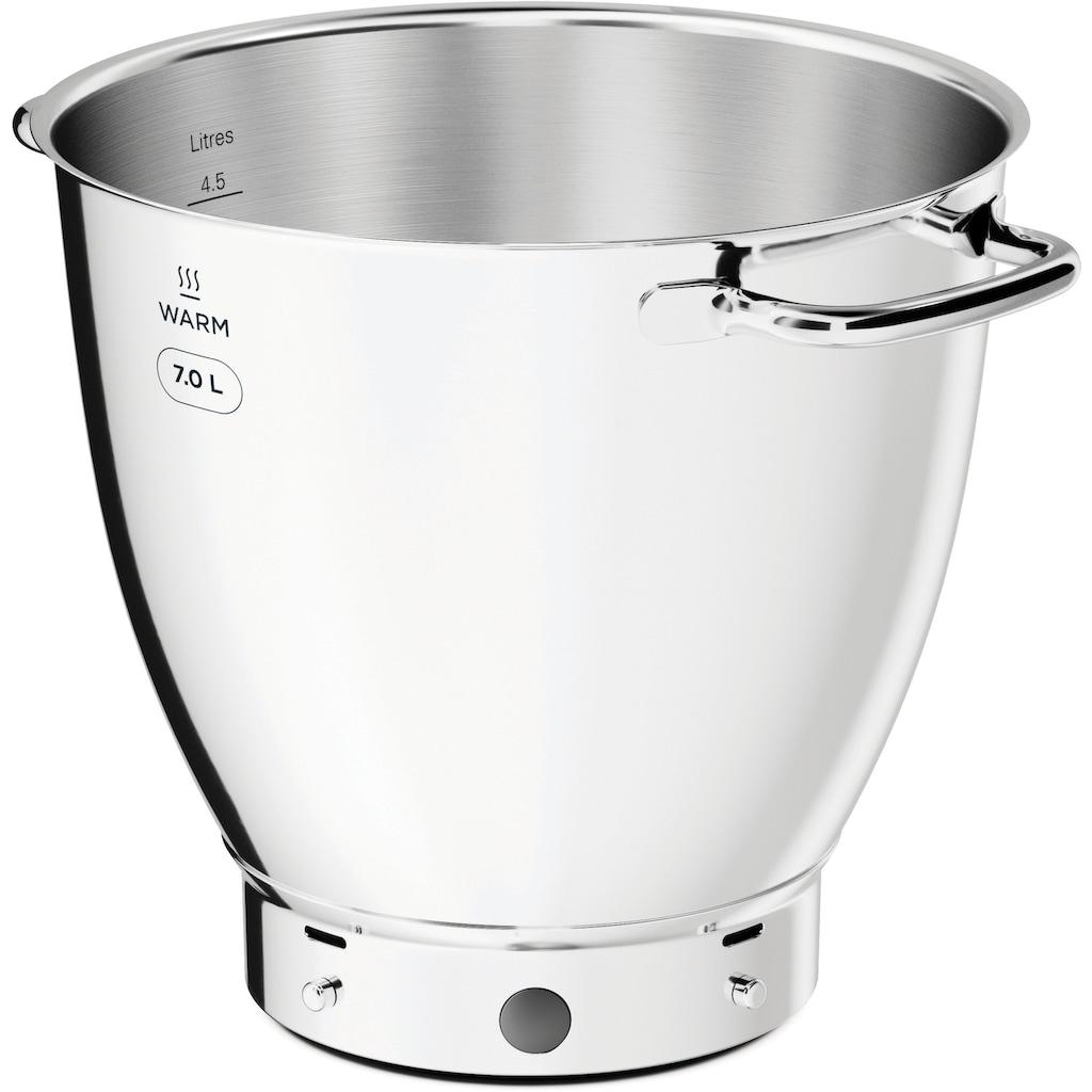 KENWOOD Küchenmaschine »Titanium Chef Patissier XL KWL90.594SI«, 1400 W, 7 l Schüssel, mit Wärmefunktion, zusätzliche 5 l Schüssel, inkl. umfangreiches Zubehör