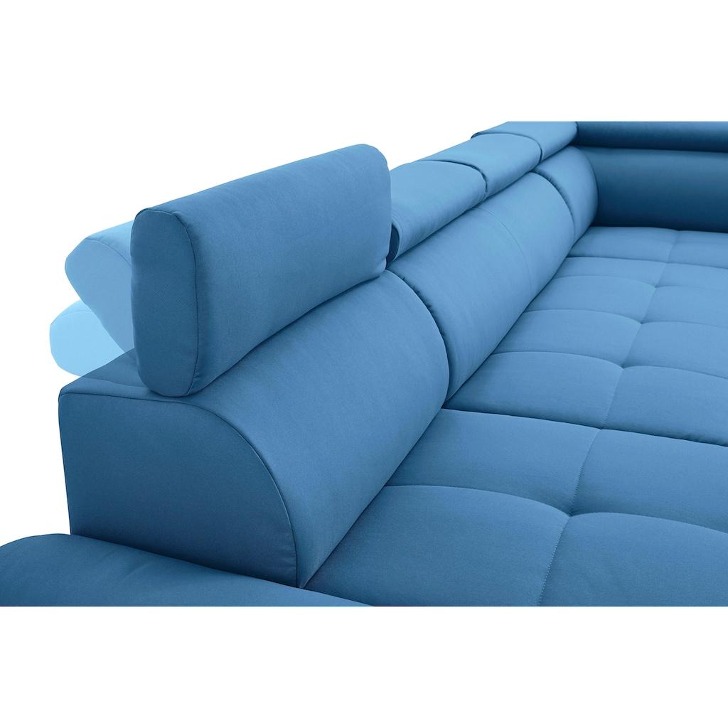 sit&more Wohnlandschaft, wahlweise mit Bettfunktion