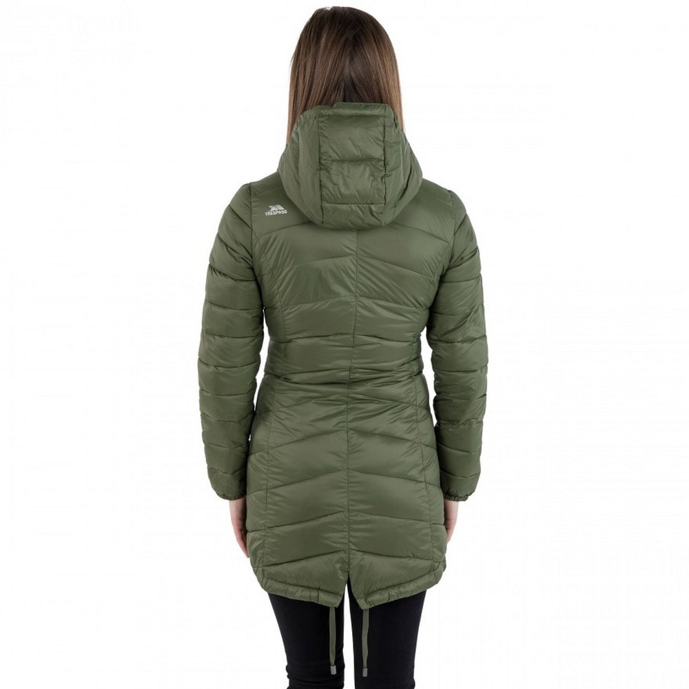 Trespass Outdoorjacke Damen Stepp-Mantel