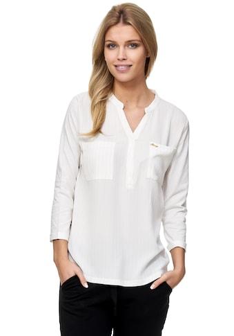 Decay Klassische Bluse, mit modischem V-Ausschnitt kaufen