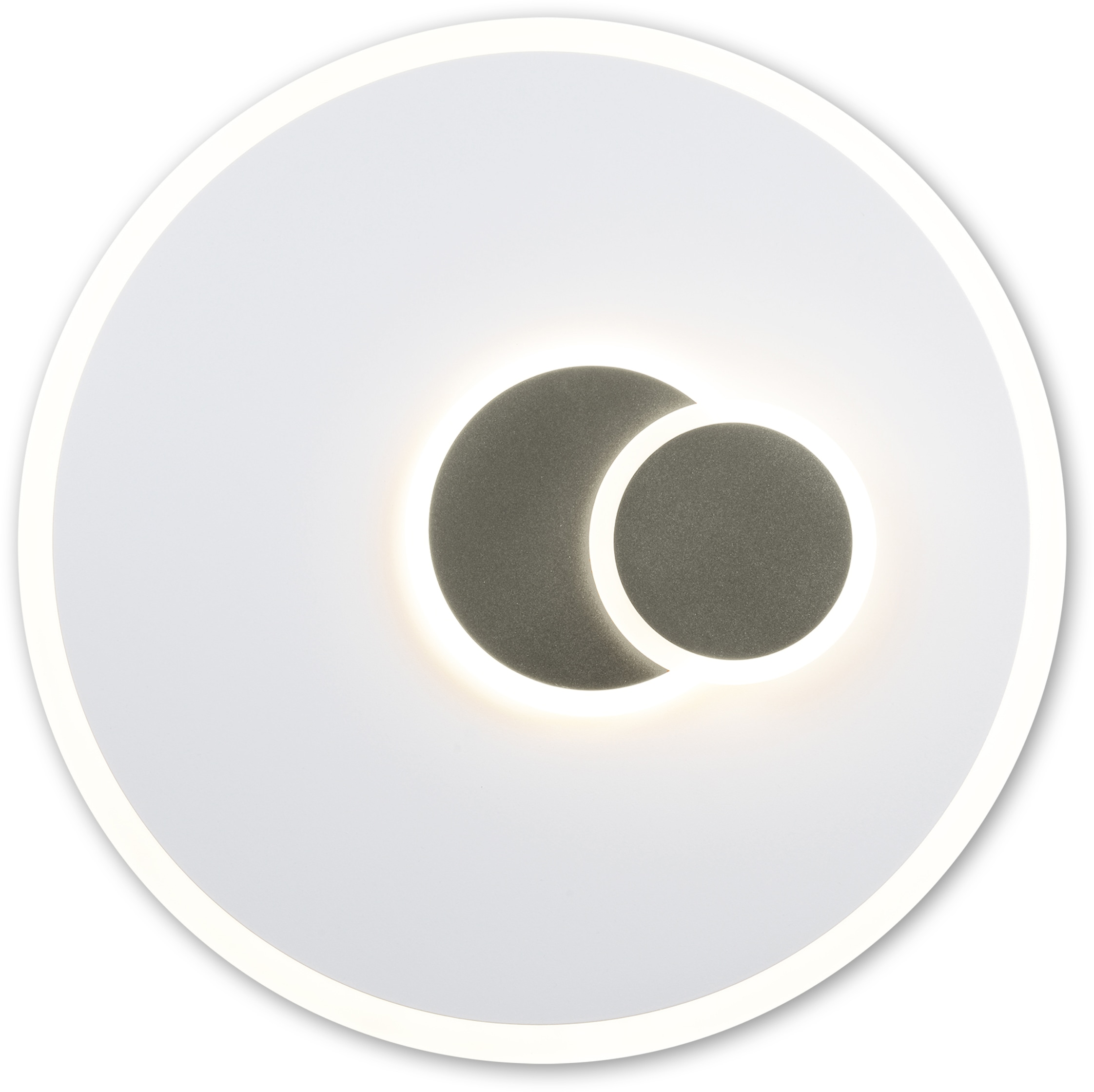 näve LED Deckenleuchte Aarhus, LED-Board, 1 St., Warmweiß, dimmbar