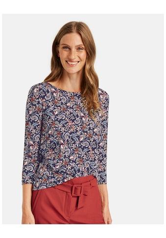 GERRY WEBER 3/4 - Arm - Shirt »3/4 Arm Shirt mit Alloverdessin« kaufen