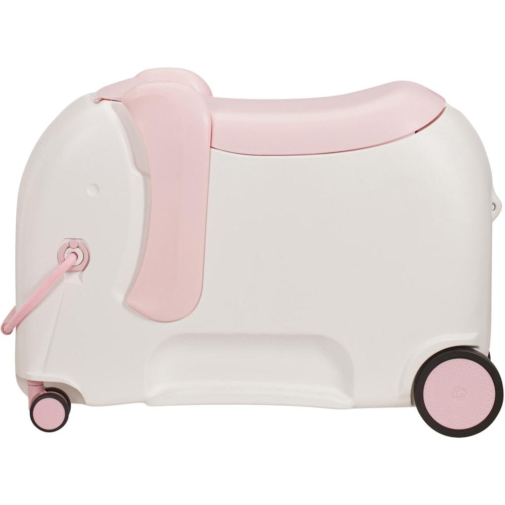 Samsonite Kinderkoffer »Dreamrider Deluxe, elephant peachy«, 4 Rollen