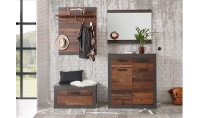 Home affaire Garderoben-Set »BROOKLYN«, (Komplett-Set, 4 St., bestehend aus Kommde,... kaufen