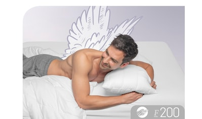 Schlafstil Baumwollkissen »F200«, (1 St.), hergestellt in Deutschland,... kaufen