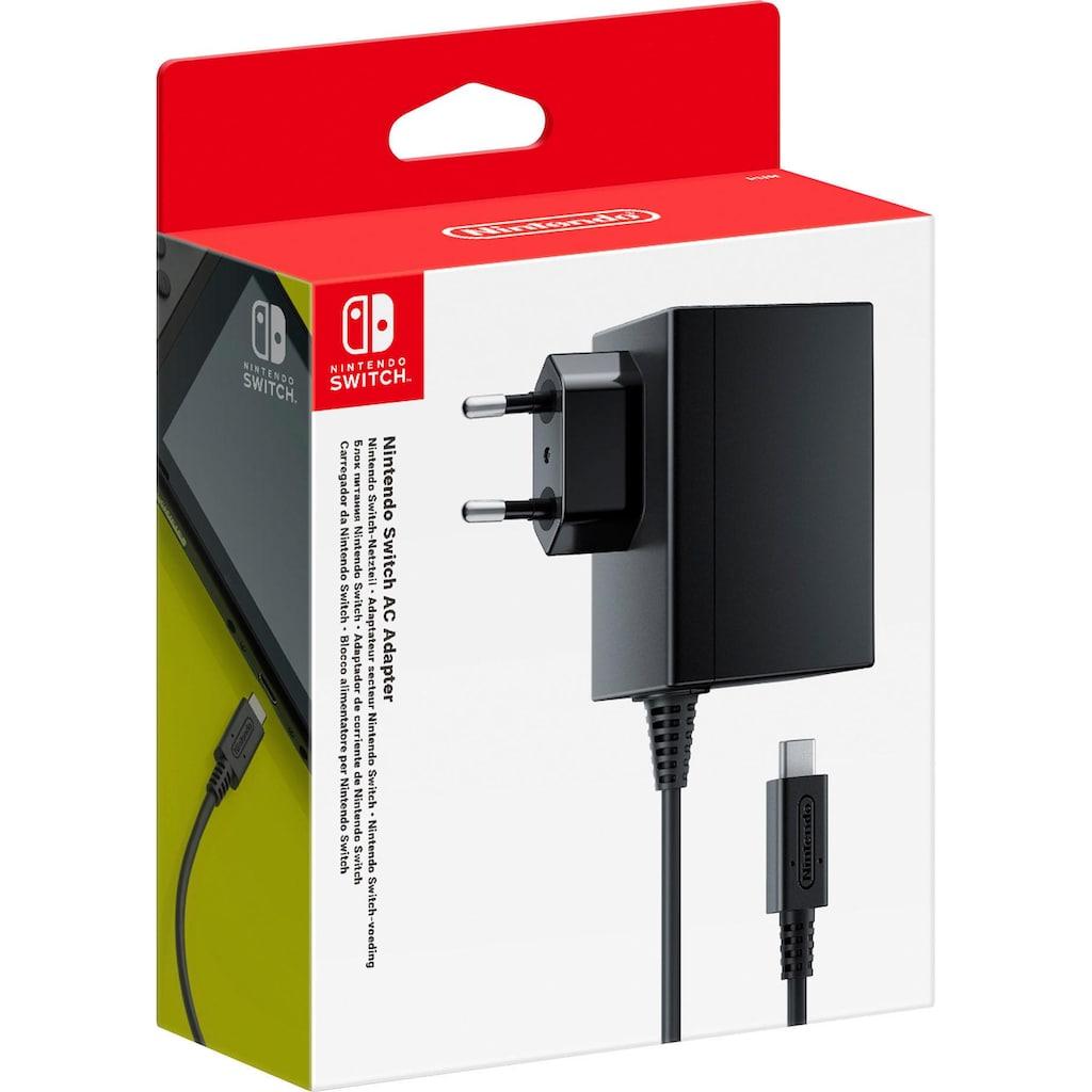 Nintendo Switch Netzkabel »Netzteil«, Typ F (Schuko)-USB-C