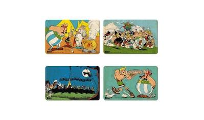 LOGOSHIRT Frühstücksbrettchen im 4er-Set mit Asterix-Motiven kaufen