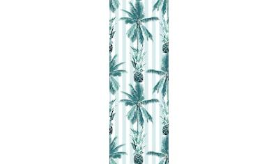QUEENCE Vinyltapete »Pineapple Dream«, 90 x 250 cm, selbstklebend kaufen