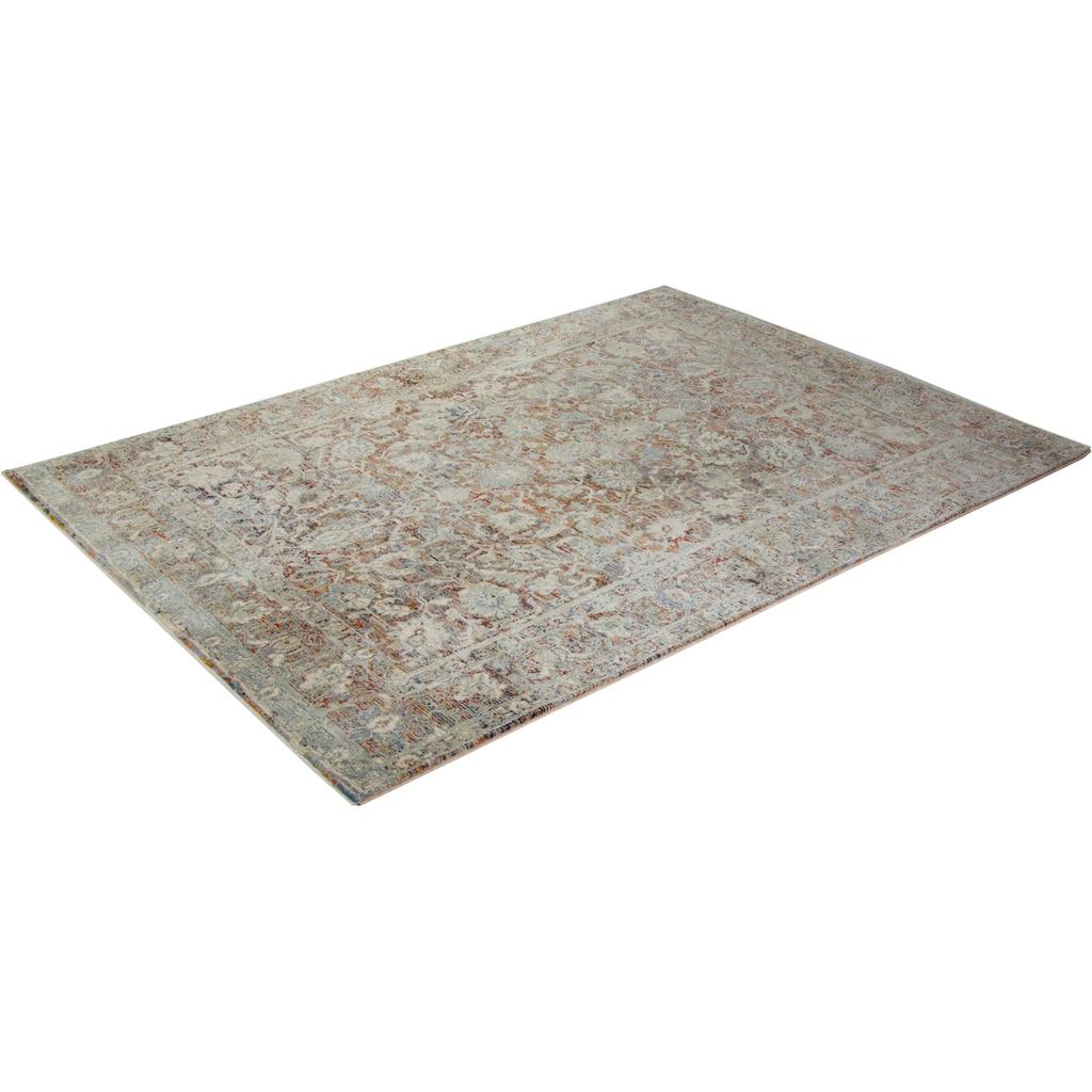 Trendline Teppich »Limitee Orient«, rechteckig, 10 mm Höhe, Orient-Optik, Vintage Design, 30% Viskose, Wohnzimmer
