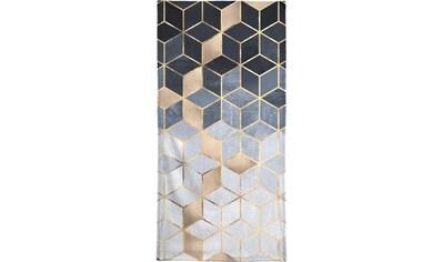 """Handtuch """"Soft Blue Gradient Cubes"""", Juniqe kaufen"""