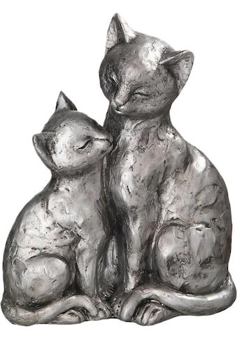 Ambiente Haus Dekofigur »Katzen-Paar«, Höhe 22 cm kaufen