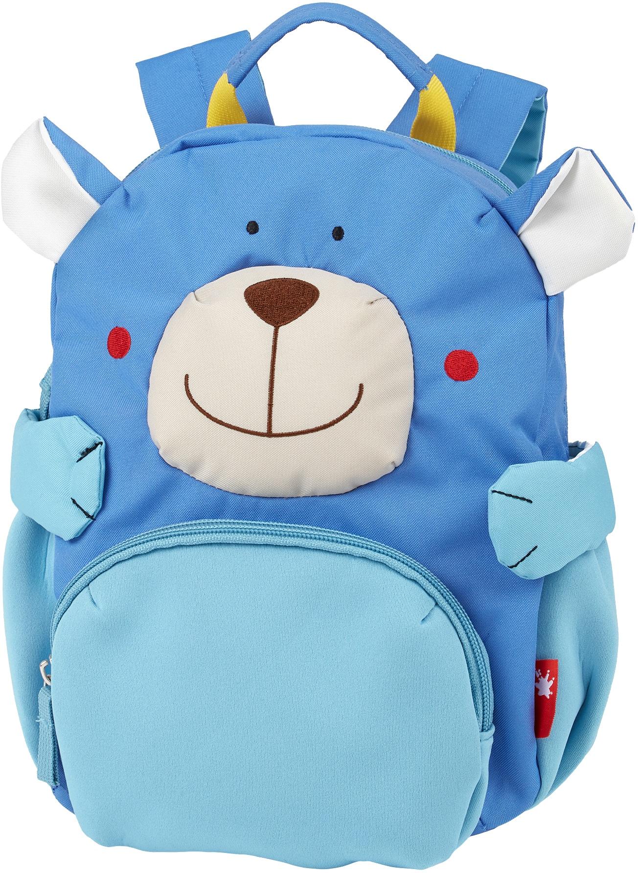 Sigikid Kinderrucksack Bär blau Rucksäcke Unisex
