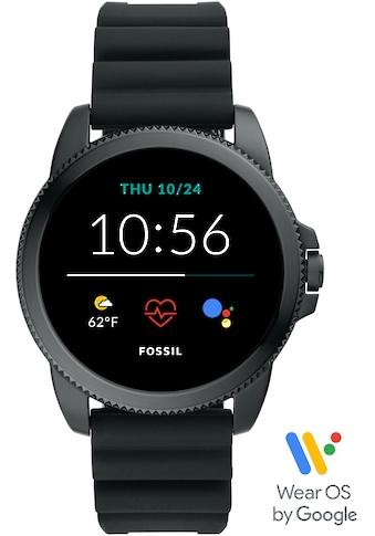 Fossil Smartwatches Smartwatch »GEN 5E SMARTWATCH, FTW4047«, (Wear OS by Google mit... kaufen