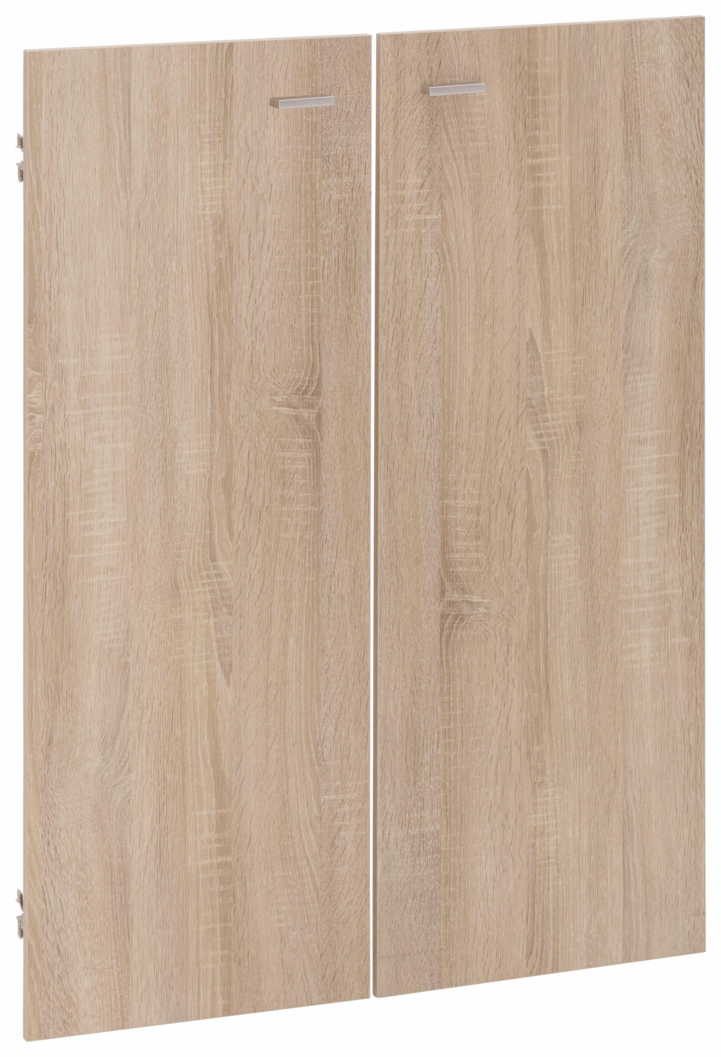 Schranktür Mio, (2 Stk.) braun Zubehör für Kleiderschränke Möbel