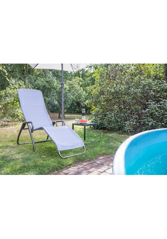 Siena Garden Gartenliege »Bito«, Stahl/Textil, verstellbar kaufen
