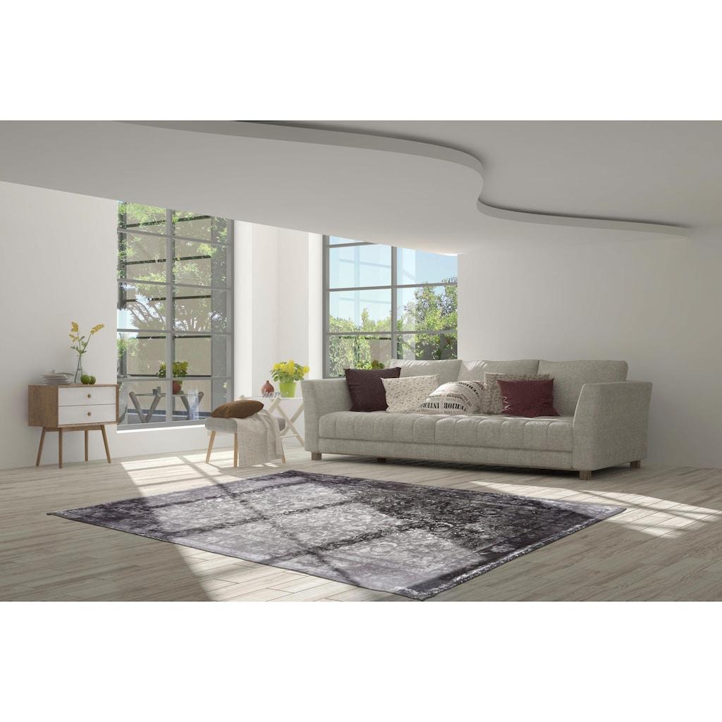 calo-deluxe Teppich »Layata 8035«, rechteckig, 9 mm Höhe, Kurzflor, Wohnzimmer