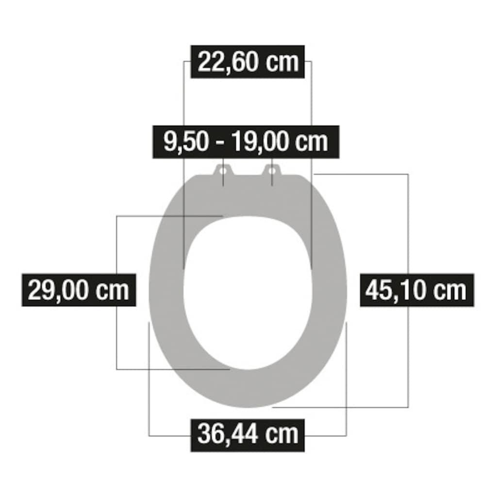 CORNAT WC-Sitz »Seestern«