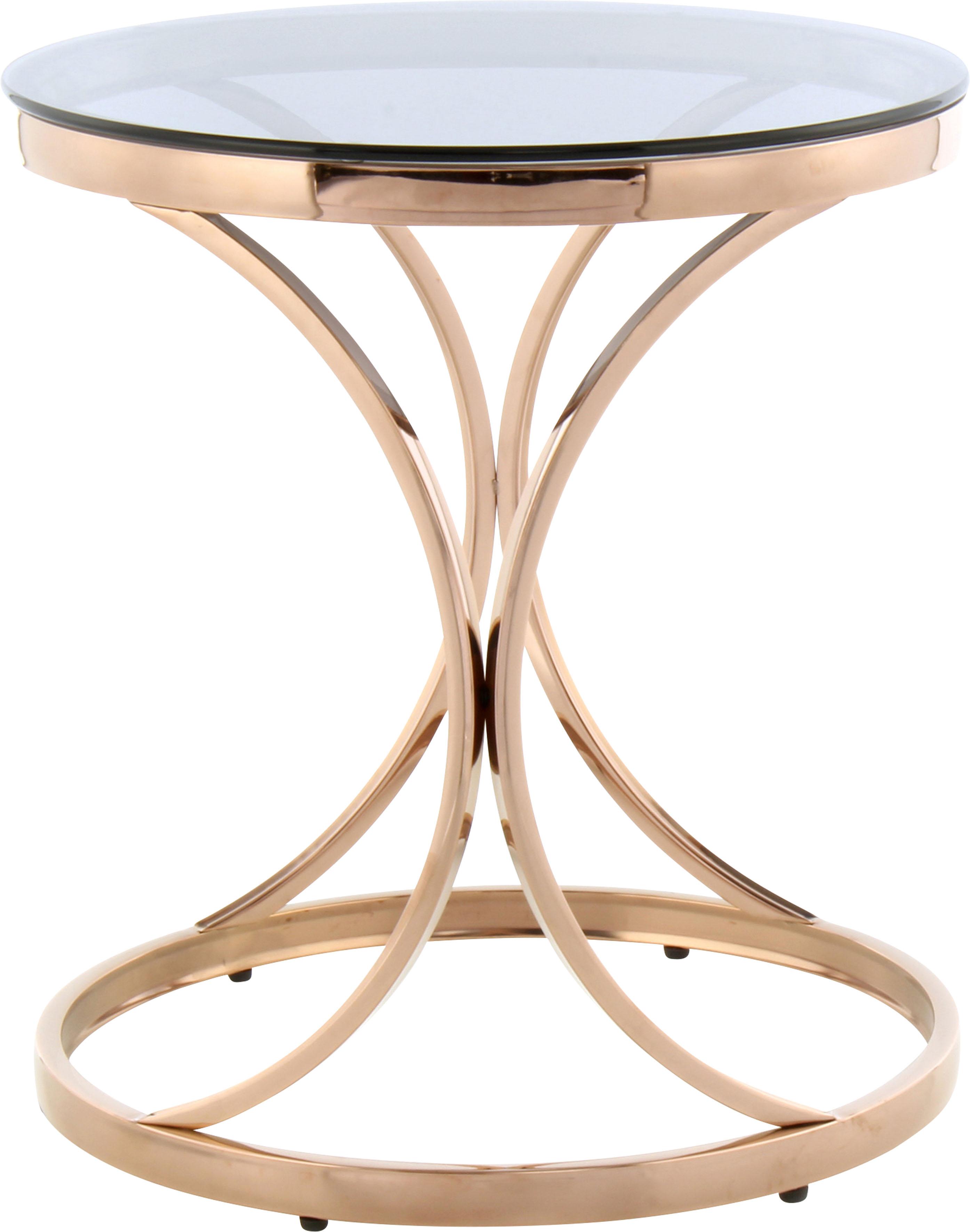 Kayoom Beistelltisch Weyda 225, filigranes Design grau Beistelltische Tische