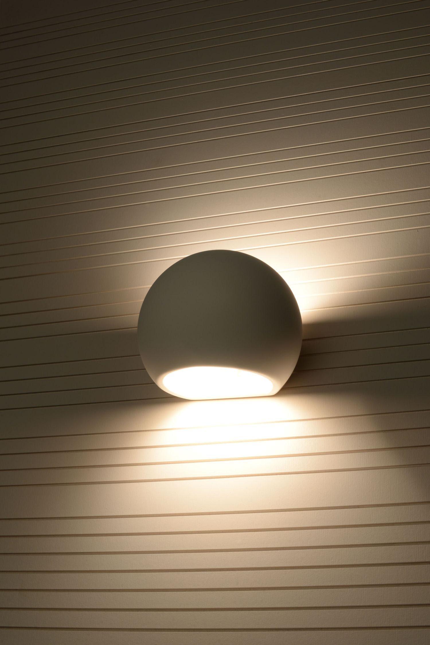 SOLLUX lighting Wandleuchte GLOBE, E27, 1 St.