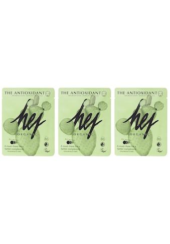HEJ ORGANIC Gesichtsmasken-Set »THE ANTIOXIDANT SET Cactus«, (3 tlg.), mit... kaufen