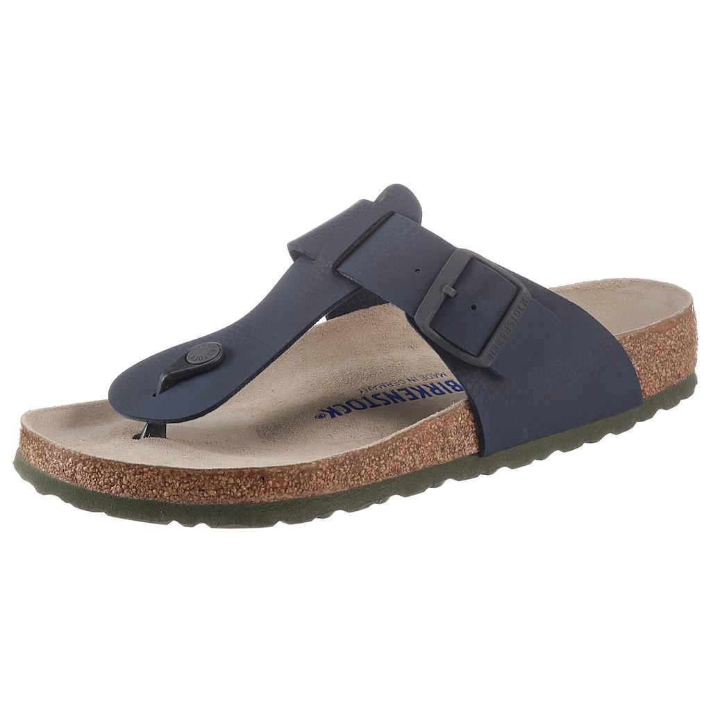 Birkenstock Zehentrenner »Medina«, mit ergonomisch geformtem Fußbett
