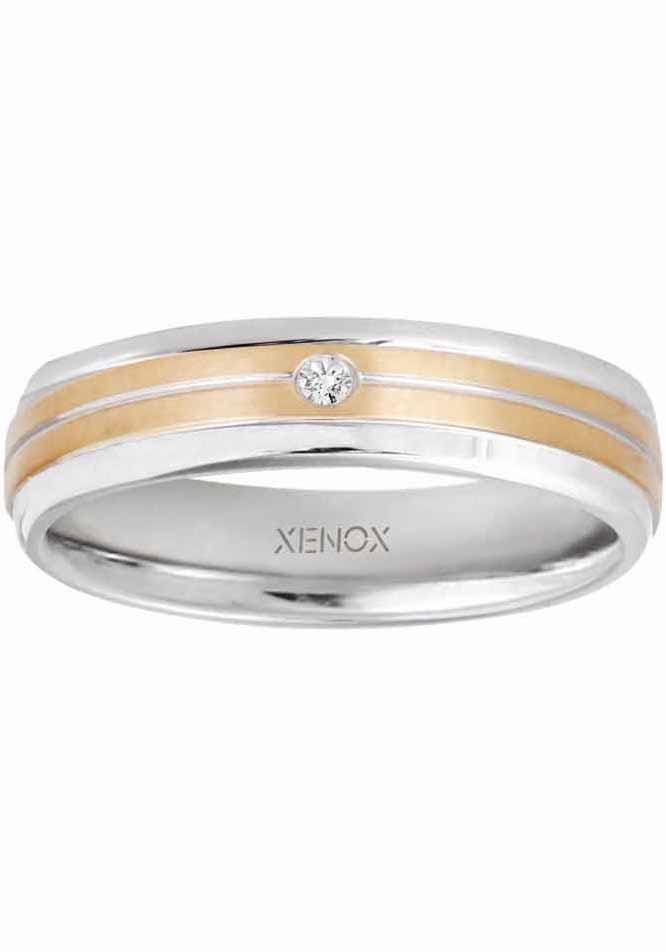 XENOX Partnerring X2625 X2626 | Schmuck > Ringe > Partnerringe | Xenox