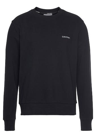 Calvin Klein Sweatshirt »CK LOGO EMBROIDERY SWEATSHIRT« kaufen
