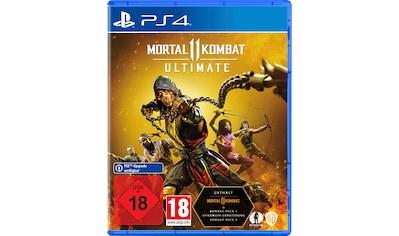 Warner Games Spiel »Mortal Kombat 11 Ultimate«, PlayStation 4 kaufen