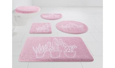 Badematte »Kaktus«, my home, Höhe 15 mm, strapazierfähig kaufen