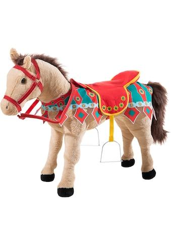 Heunec® Kuscheltier »Karussellpferd beige mit Sound« kaufen