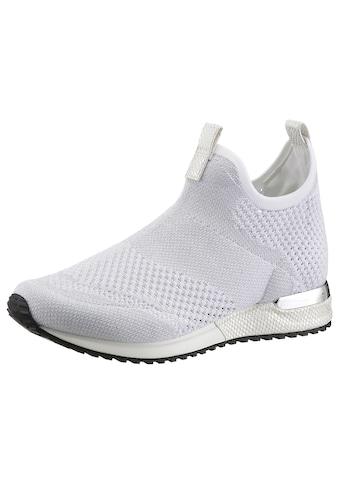 La Strada Slipper »Fashion Sneaker Slip On«, mit Metallicapplikation am Absatz kaufen