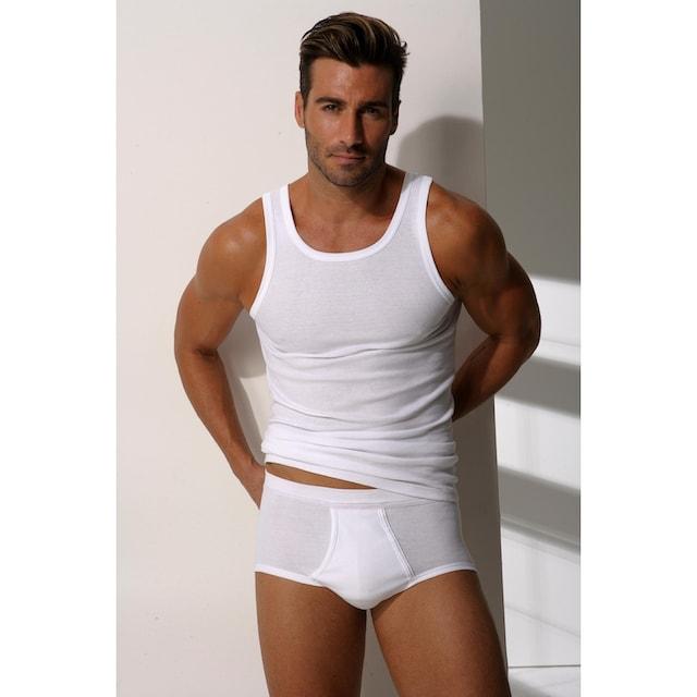 Clipper Unterhemd, 4 Stück