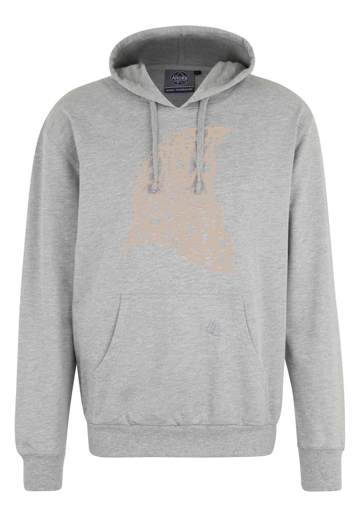 ahorn sportswear -  Kapuzenpullover, mit modischem Frontdruck