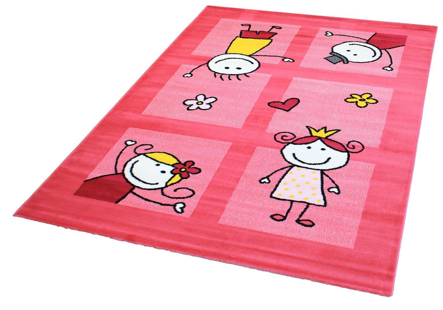 Kinderteppich Bambino 2107 Sanat Teppiche rechteckig Höhe 11 mm