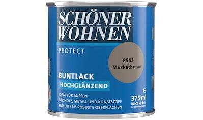 SCHÖNER WOHNEN-Kollektion Lack »Protect«, hochglänzend, 375 ml, muskatbraun kaufen