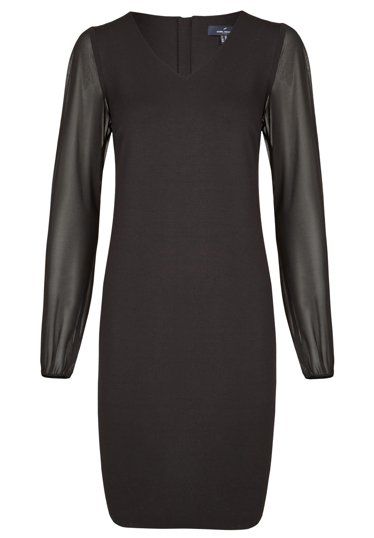 Daniel Hechter Modernes Kleid mit abgesetzten Ärmeln