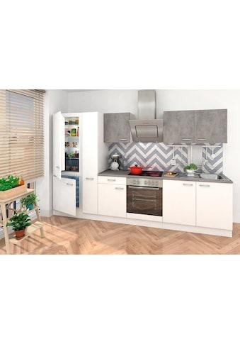 RESPEKTA Küchenzeile, mit E-Geräten, Breite 300 cm kaufen